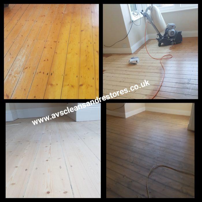 pine floor sanding rothbury Northumberland